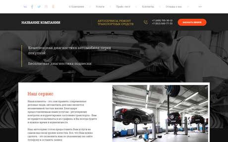 Готовое решение для бизнеса с индивидуальным дизайном №71838