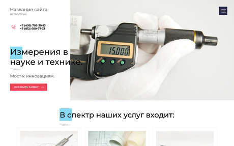 Готовое решение для бизнеса с индивидуальным дизайном №73454